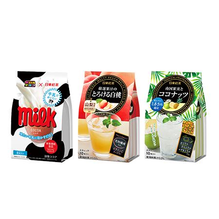 チロルチョコ×日東紅茶 ミルクココア / 他2品
