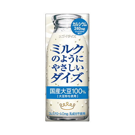 ミルクのようにやさしいダイズ プレーン200ml/950ml