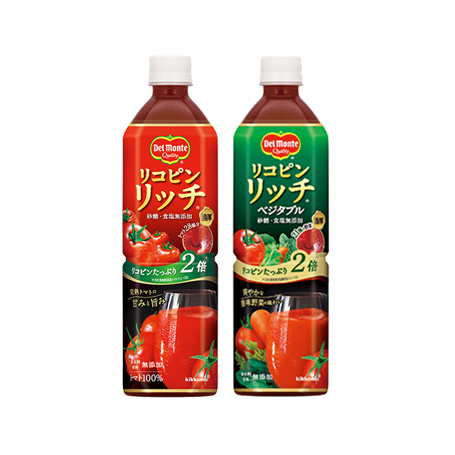 デルモンテ リコピンリッチ トマト/ベジタブル 900g